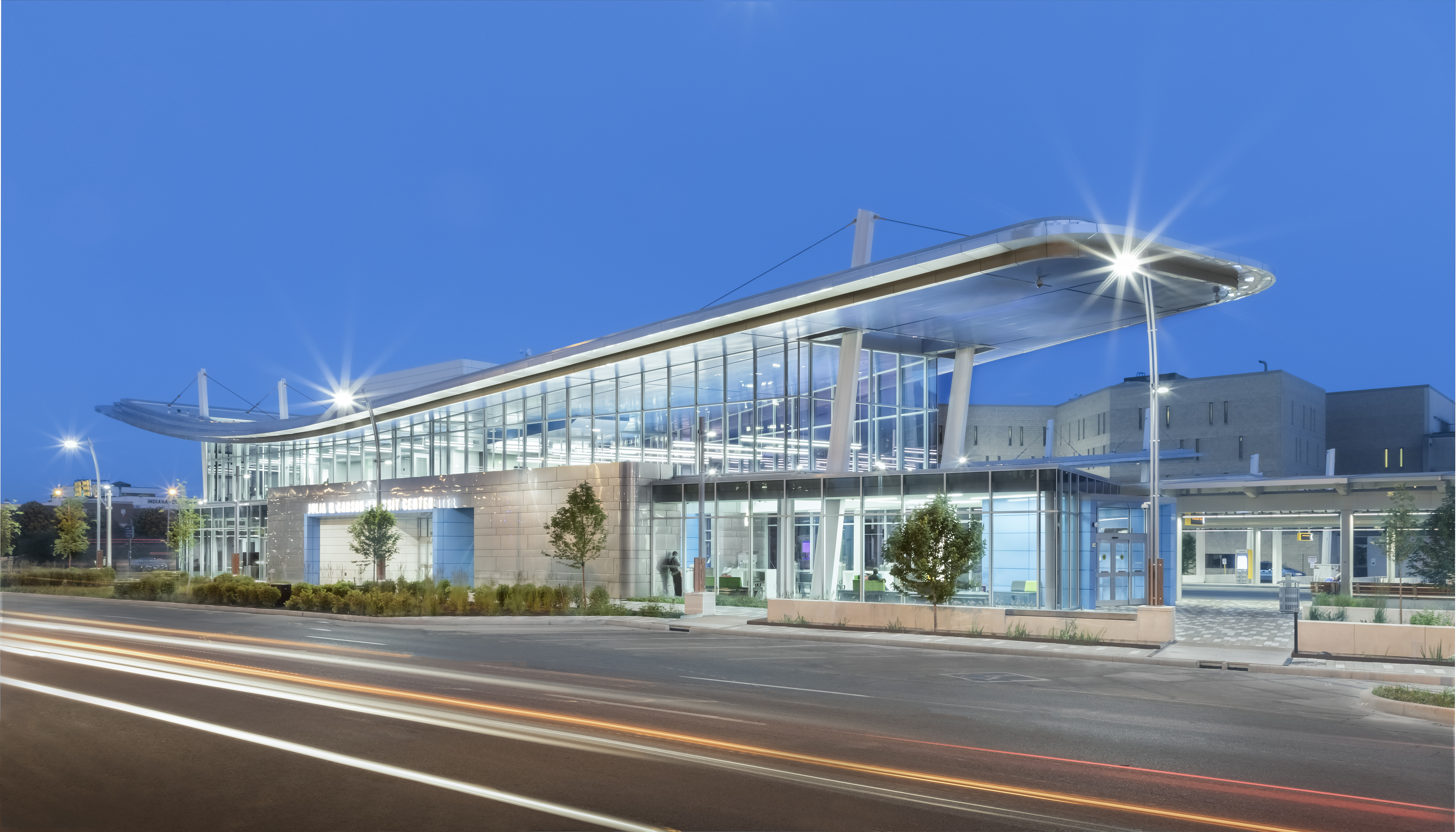 2017 awards Julia M. Carson Transit Center Northwest Perspective